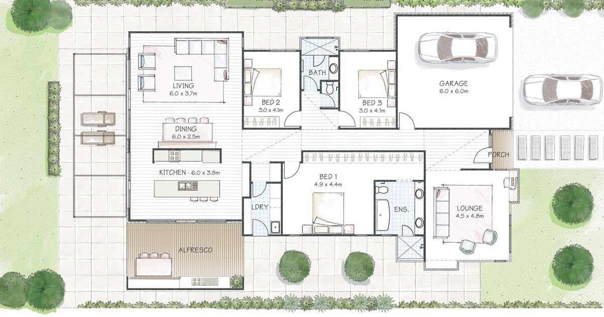 Lautrec 250 Floorplan